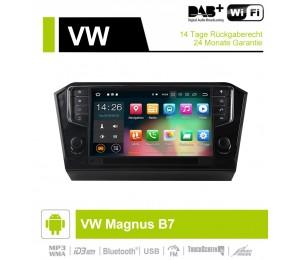 9 Zoll Android 9.0 Autoradio / Multimedia 2GB RAM 16GB ROM Für VW Magnus B7