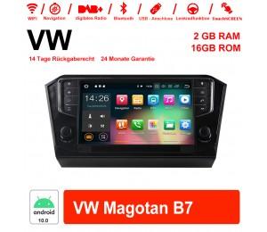 9 Zoll Android 10.0 Autoradio / Multimedia 2GB RAM 16GB ROM Für VW Magotan B7