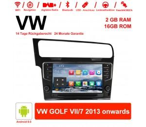 9 Zoll Android 9.0 Autoradio / Multimedia 2GB RAM 16GB ROM Für VW GOLF VII/7 2013 onwards