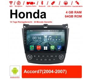 10.1 Zoll Android 9.0 Autoradio / Multimedia 4GB RAM 64GB ROM Für Honda Accord7 Mit WiFi NAVI Bluetooth USB