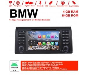 7 Zoll Android 10.0 Autoradio / Multimedia 4GB RAM 64GB ROM Für BMW E53 E39 X5 M5