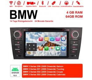 7 Zoll Android 10.0 Autoradio / Multimedia 4GB RAM 64GB ROM Für 3 Serie BMW E90 E91 E92 E93 318 320 325 Manuelle Klima klimaanlage
