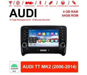 7 Zoll Android 10.0 Autoradio / Multimedia 4GB RAM 64GB ROM Für AUDI TT MK2