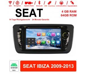 NEU 7'' Android 10.0 4GB+64GB 1024*600 HD Capacitive Touch Screen Autradio Für Seat IBIZA