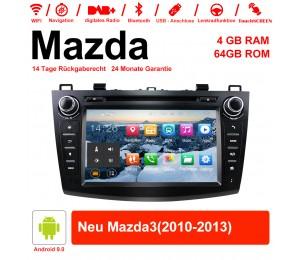 8 Zoll Android 9.0 Autoradio / Multimedia 4GB RAM 64GB ROM Für Mazda new Mazda3