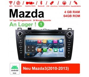 8 Zoll Android 10.0 Autoradio / Multimedia 4GB RAM 64GB ROM Für Mazda new Mazda3