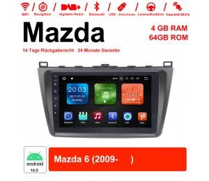 9 Zoll Android 10.0 Autoradio / Multimedia 4GB RAM 64GB ROM Für Mazda6(2009- )