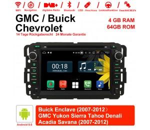 7 Zoll Android 9.0 Autoradio / Multimedia 4GB RAM 64GB ROM Für GMC sierra Yukon Savana Denali/Buick Enclave/Chevrolet HHR Tahoe ... Mit WiFi NAVI Bluetooth USB