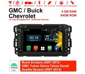 7 Zoll Android 10.0 Autoradio / Multimedia 4GB RAM 64GB ROM Für GMC sierra Yukon Savana Denali/Buick Enclave/Chevrolet HHR Tahoe ... Mit WiFi NAVI Bluetooth USB
