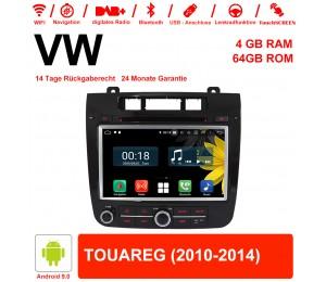8 Zoll Android 9.0 Autoradio / Multimedia 4GB RAM 64GB ROM Für VW TOUAREG Mit WiFi NAVI Bluetooth USB