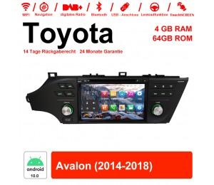 8 Zoll Android 10.0 Autoradio / Multimedia 4GB RAM 64GB ROM Für Toyota Avalon 2014-2018 Mit WiFi NAVI Bluetooth USB