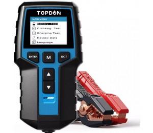TOPDON BT200 12V Autobatterietester Digital Automotive Diagnostic Batterietesteranalysator Tool zum Anlassen des Fahrzeugscanners