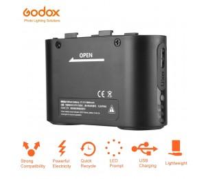 Godox BT5800 Batterie 5800mAH Externe Flash-Power Backup Schnelle Füllen Ausgang Batterie für LED und USB Port für Power versorgung PB960