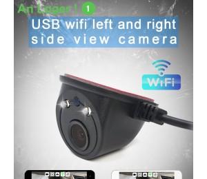 USB WiFi Auto Seitenansicht Kamera 125~150 Degrees Wide Angle
