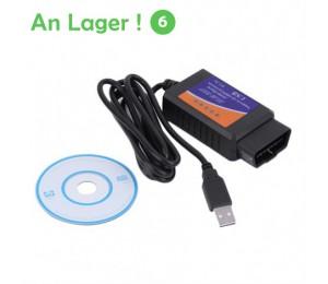 ELM327 USB OBD2 Auto car Diagnostic Tool ELM 327 V1.5 USB Interface OBDII CAN-BUS Scanner