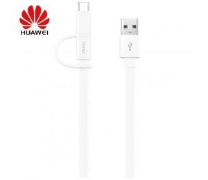 Original Huawei Honor AP55 Micro USB & Type C 2 In 1 Kabel Ladedatenkabel