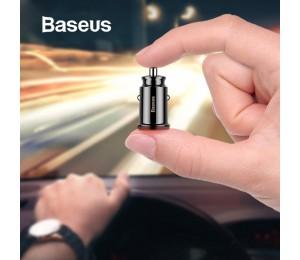 Baseus Mini USB Auto Ladegerät Für Handy Tablet GPS 3.1A Schnelle Ladegerät Auto-Ladegerät Dual USB Auto