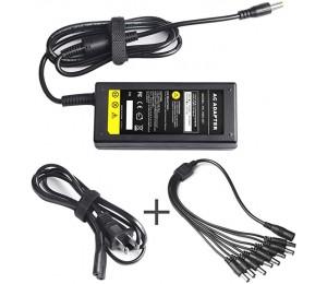 Qualität der CE-Zertifizierung DC 12V 5A Netzteil Adapter mit 8 Split Power Kabel für Sicherheit Kamera CCTV DVR Überwachungskamera System