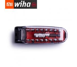 XIAOMI Mijia Wiha 17IN1 Magnetschlüssel Schraubendreher Bits Kit Krokodil Mund Mini Tragbare Tasche Schraubendreher Set Repair Tool