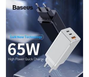 Baseus GaN 65W Mini Schnellladen Reiseladegerät