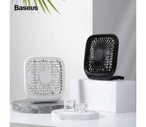 Baseus Auto Fan Kühler Faltbare Schweigen Fan Für Auto Rücksitz Klimaanlage 3 Geschwindigkeit Einstellbar Mini USB Fan Schreibtisch