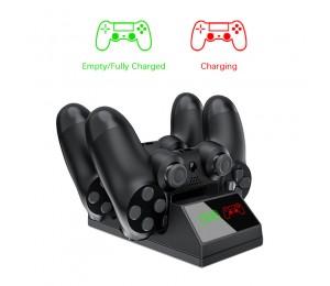 PS4 Controller-Ladegerät USB Ladestation mit LED Licht Für kabellosen Sony Playstation 4 / PS4 / Pro / Slim Controller