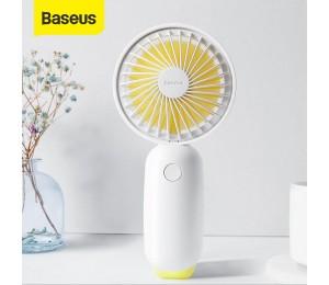 Baseus Protable Handheld Fan 3-Speed Mini USB Aufladbare Fan mit 1500mAh Power Batterie Ruhigen Desktop Persönliche Kühlung fan