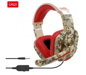 ipega PG-R005 Gaming-Headset Stereo Noise Cancelling Gaming-Kopfhörer 3,5 m Kabel-Kopfhörer für Nintendo Switch Lite PS4 PC XBOX One 360