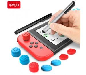 ipega PG-SW030 Switch Lite Stylus-Set Touchscreen Stift Set Hohe Wipp kappe und kurze Kappe Nintendo Switch Gaming Touch Stift
