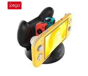 ipega PG-SL003 UFO 4 in 1 Schnell Ladedock Für Nintendo Switch / Switch Lite Pro Griff und Joy Con Controller Ladeschalterständer