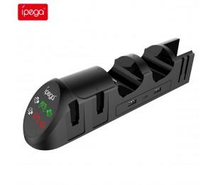 ipega PG-9187 6-in-1-Ladestation für den Nintendo Switch Joy-Con Pro für den Nintendo Switch Pro Gamepad-Ladeständer