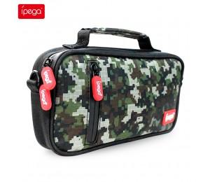 ipega PG-SL012 Aufbewahrungstasche Handtaschen Etui Multifunktionales tragbares tragbares Schutzpaket Passend für Nintendo Switch Lite Console