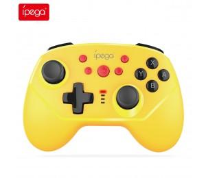 ipega PG-9162 Drahtloses Bluetooth Gamepad für Nintendo Switch Sechsachsiger Vibrations-Gamecontroller Ergonomischer NS Switch Pro-Joystick