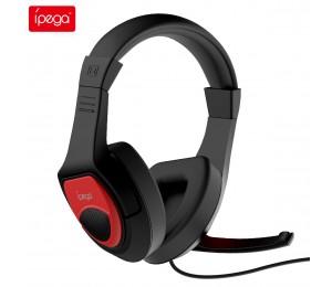 iPega PG-R001 Gaming Kopfhörer HIFI Stereo Kopfhörer Musik Headset Kompatibel für Nintendo Switch PS4 iPhone Xiaomi