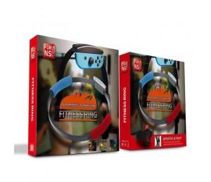 Neues verstellbares elastisches Beinband Sportband 60cm Ring-Con Griffe BeinFür Nintendo Switch Ring Fit Abenteuerspiel