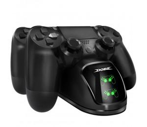DOBE PS4 Controller Joystick Griff USB Ladeständer Schnelllade Dockingstation Gamepad für Playstation 4 PS4 Slim Pro Stand