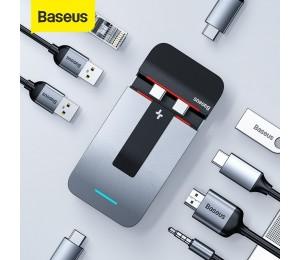 Baseus 9 in 1 Armor Age Typ-C Halterung Multifunktionaler HUB-Adapter