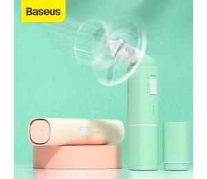 Baseus Tragbare Handheld Fan Mini USB Lüfter mit 2 Speed USB Kühler Fan Wiederaufladbare Folding Handheld Fan Für Büro hause