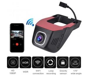 Versteckte Auto Dash Kamera DVR Wifi Dash Cam 1080P Volle HD Front Auto Kamera Recorder Auto Video Kanzler