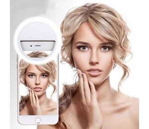 USB-Lade-LED Selfie-Ringlicht für das iPhone Zusätzliche Beleuchtung Selfie Enhancing Fill Light