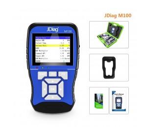 JDiag M100 Motorrad Scanner Universal Motorrad Scan Werkzeug 12V Batterie Tester Intelligente Dual System Moto Scan Tool