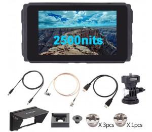 Fotga E50 5 Zoll Ultra Helle 2500nit DSLR Touchscreen Bereich Kamera Monitor 3D LUT,3G SDI, wavaform, Vector,4K HDMI-kompatibel