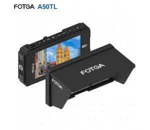 FOTGA A50TL 5 Zoll FHD IPS Vedio Monitor Auf-kamera Feld Monitor 1920*1080 Touchscreen Dual NP-F Batterie platte für 5D III IV A7 A7R A7S II III GH5