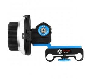 Fotga DP3000 M1 Follow Focus für DSLR 5D II III 7D 600D 15mm Stange Getriebe Größe Optional