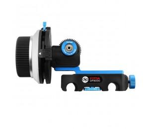 FOTGA DP3000 M4 DSLR Quick Release Clamp A/B Stoppt follow Focus fit für 15mm Rod Rig für canon sony DSLR 5D II III 7D D90