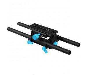 FOTGA DP3000 M4 QR DSLR Schiene 15mm Stangenplatten-Stützgerät für Follow Focus Matte Box HDV