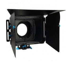 FOTGA DP3000 M2 DSLR Matte Box Sonnenschutz mit / Donuts Filterhalter für 15mm Stab Rig