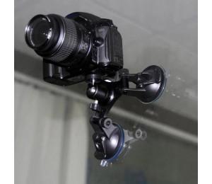 Triple Saugnapf Stabilisierung Halterung Auto Halterung für DSLR GoPro Hero Osmo Action Halter Halterung Kamera Zubehör