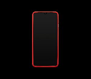 OnePlus 7T Silikon-Schutzhülle Rot