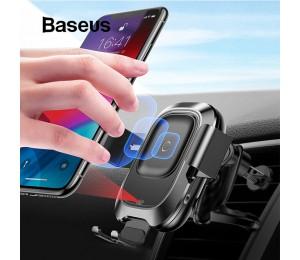 Baseus Auto Telefon Halter für iPhone Samsung Intelligente Infrarot Qi Auto Drahtlose Ladegerät Air Vent Halterung Handy Halter Stehen